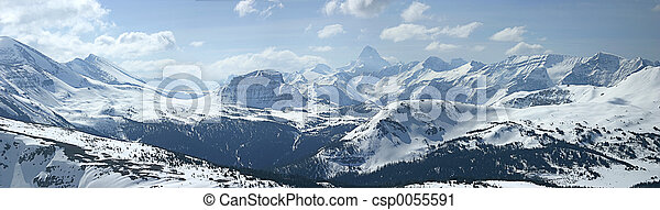 Mountain Panoramic - csp0055591