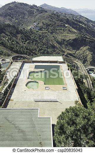 Mountain Pool - csp20835043