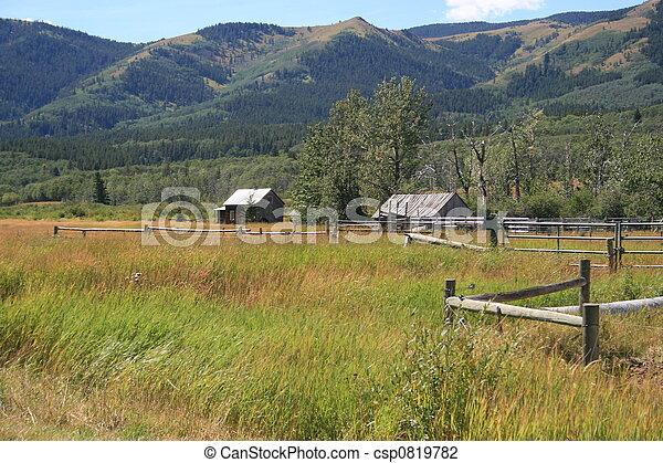 Mountain Ranch - csp0819782