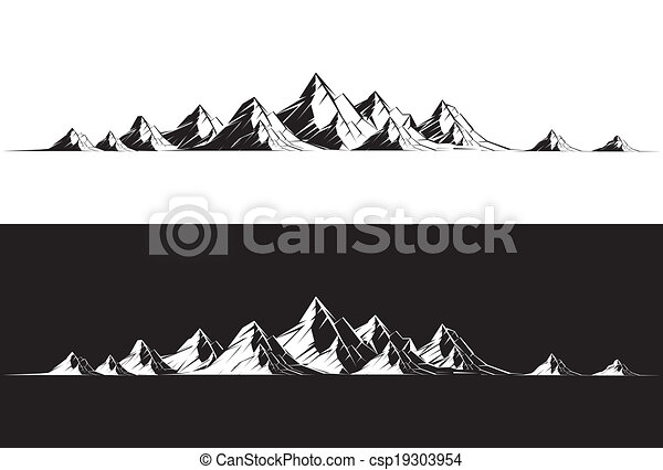 illustration of a mountain range clipart vector search rh canstockphoto com mountain range clipart black and white rocky mountain range clipart