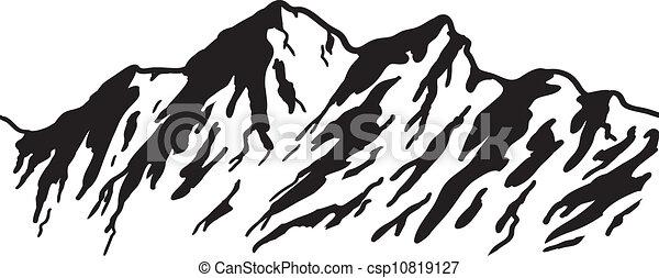 mountain range - csp10819127