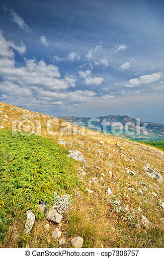 mountain range - csp7306757