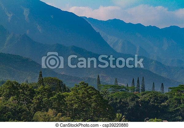 mountain range - csp39220880
