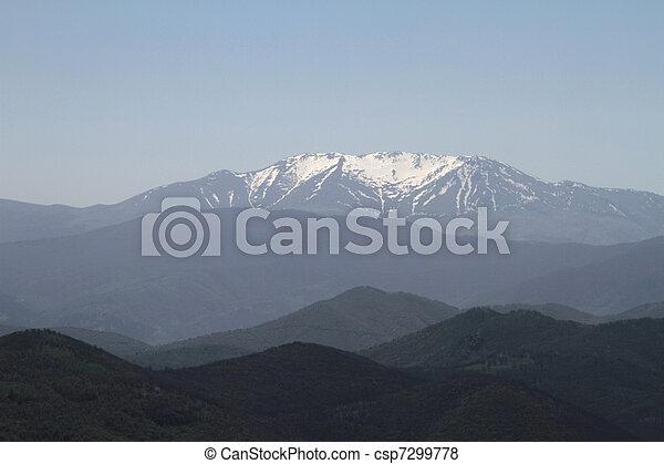 mountain range - csp7299778