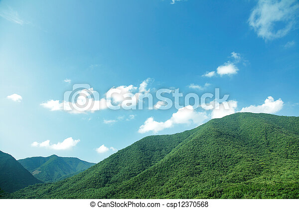 mountain range - csp12370568
