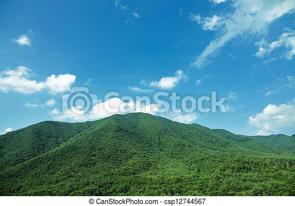 mountain range - csp12744567