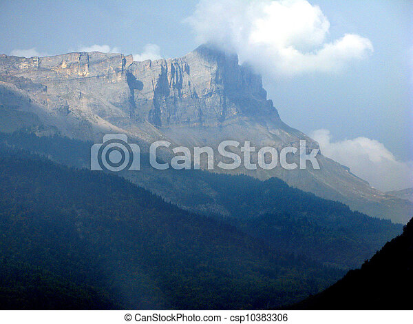 Mountain range - csp10383306