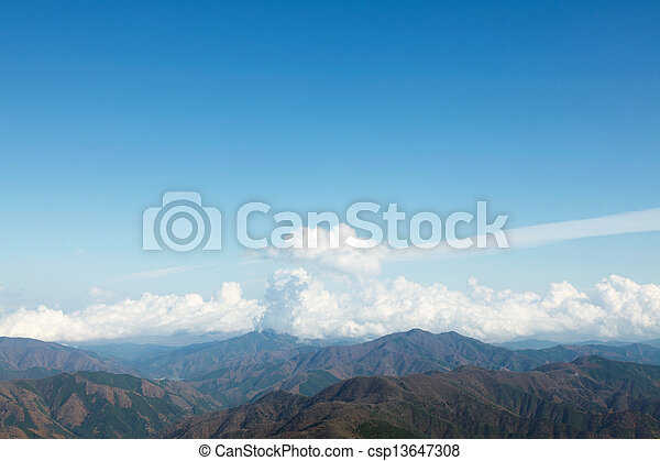 mountain range - csp13647308