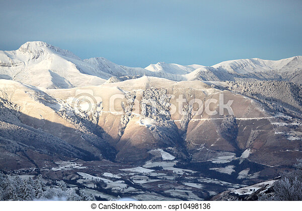 Mountain range - csp10498136