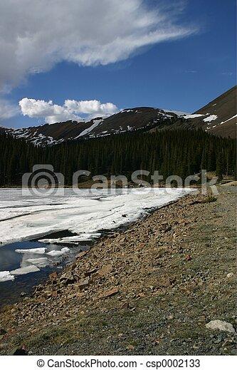 Mountain Reflection - csp0002133