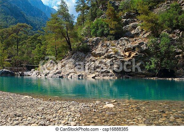 Mountain river - csp16888385