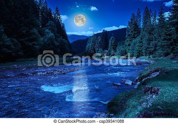 Mountain river - csp39341088