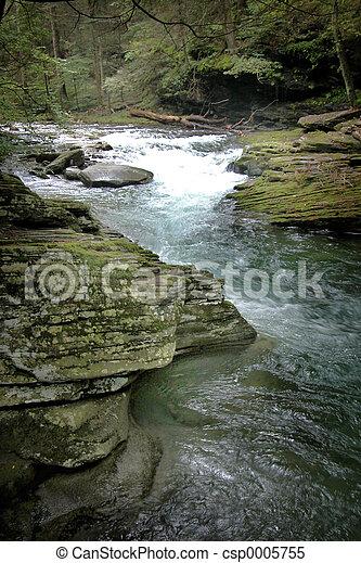 Mountain River - csp0005755