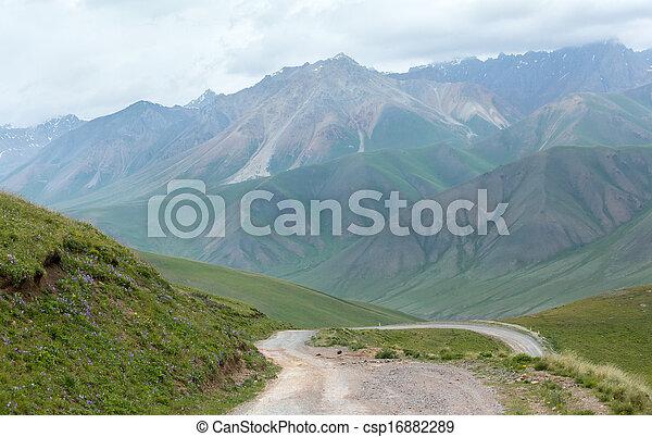 Mountain road - csp16882289
