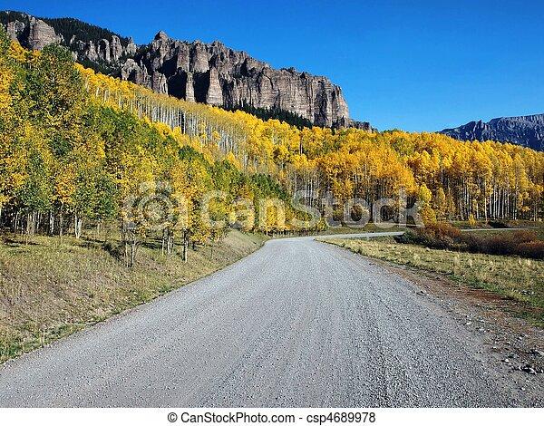 Mountain Road - csp4689978