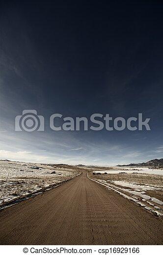 Mountain Road - csp16929166