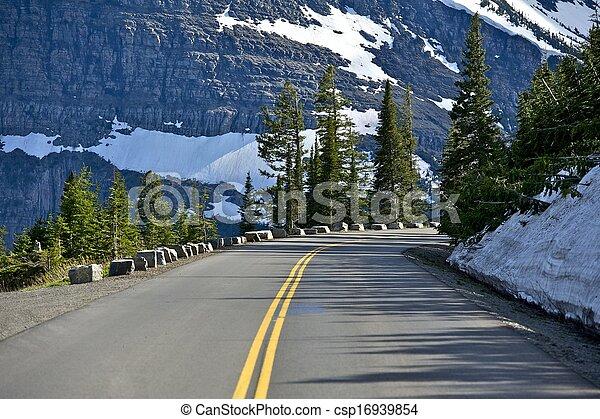 Mountain Road - csp16939854