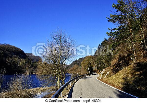 mountain road - csp6146304