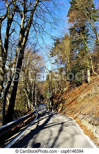 mountain road - csp6146394