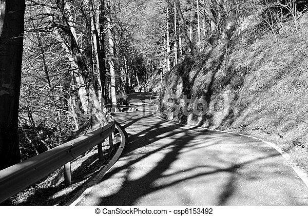 mountain road - csp6153492