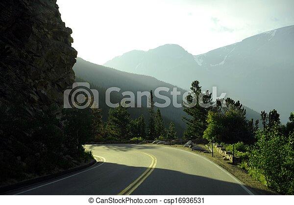 Mountain Road - csp16936531