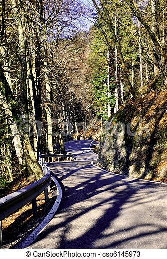 mountain road - csp6145973