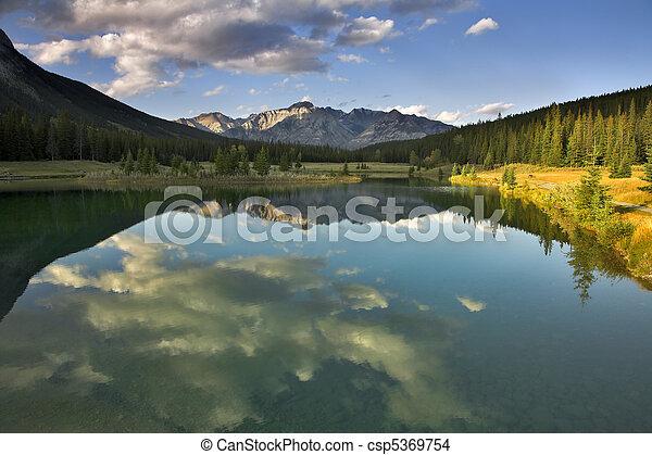Mountain silence. - csp5369754