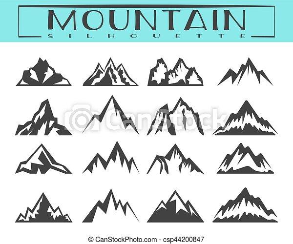 mountain t shirt designs Silhouette