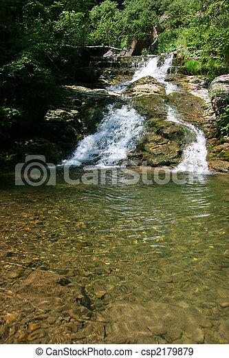 Mountain stream - csp2179879