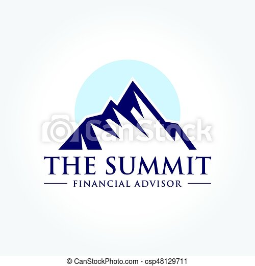 An Amazing Illustration Of Mountain Summit Peak In Nature Concept