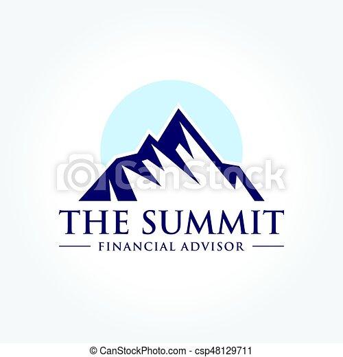An Amazing Illustration Of Mountain Summit Peak In Nature
