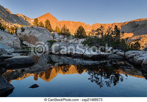Mountain Sunrise - csp21488573