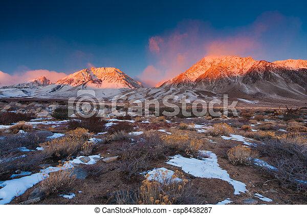 Mountain Sunrise - csp8438287