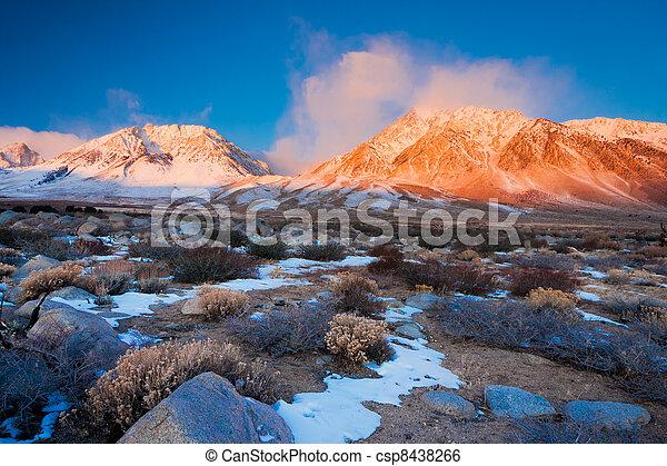Mountain Sunrise - csp8438266