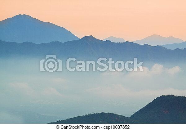 Mountain Sunrise - csp10037852