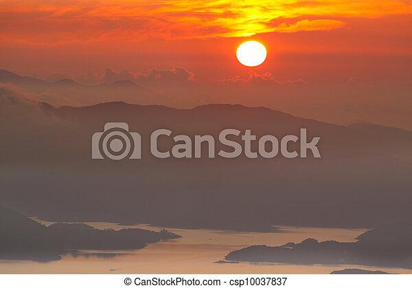 Mountain Sunrise - csp10037837