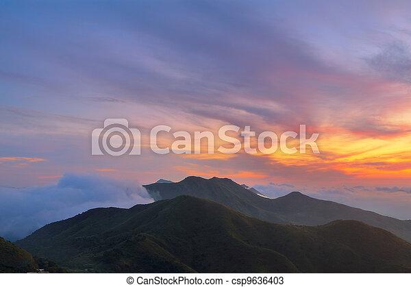 Mountain Sunrise - csp9636403