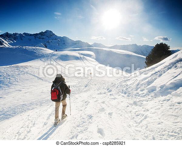 Mountain trekking - csp8285921
