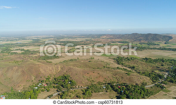 Mountain valley in the Philippines - csp60731813