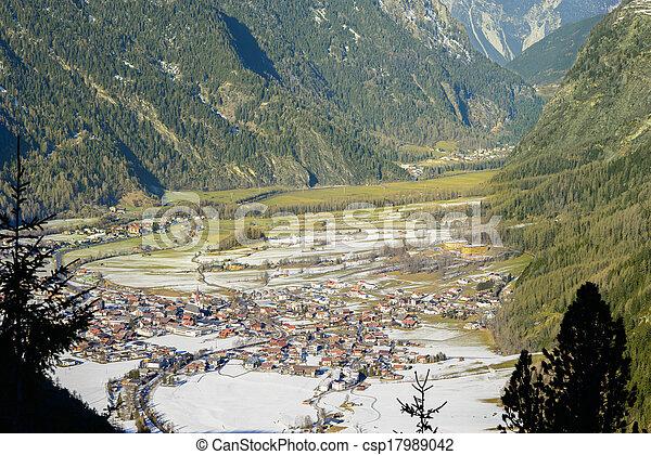 Mountain Village - csp17989042
