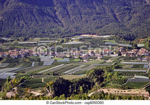 mountain village - csp6050393