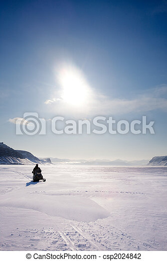 Mountain Winter Landscape - csp2024842