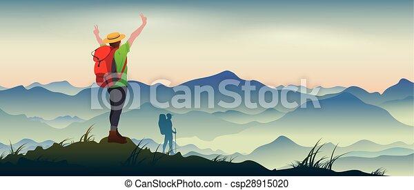 Mountaineering - csp28915020