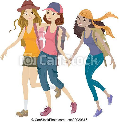 Mountaineering Teens - csp20020618