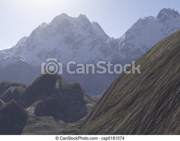 Mountains - csp0181074
