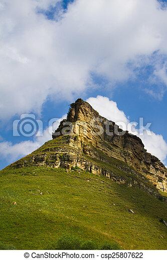 mountains, grön - csp25807622