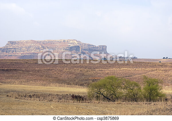 Mountains in South Africa - csp3875869