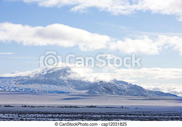 mountains near Las Vegas, Nevada, USA - csp12031825