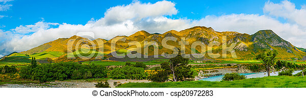 Mountains of New Zealand - csp20972283