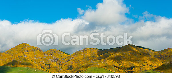 Mountains of New Zealand - csp17840593